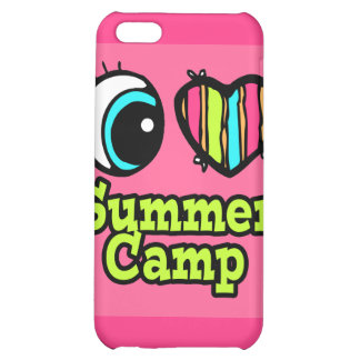 Bright Eye Heart I Love Summer Camp iPhone 5C Case