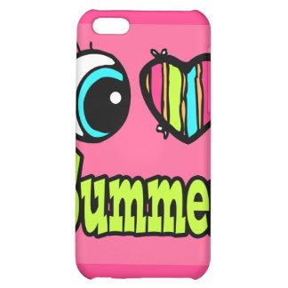 Bright Eye Heart I Love Summer iPhone 5C Case