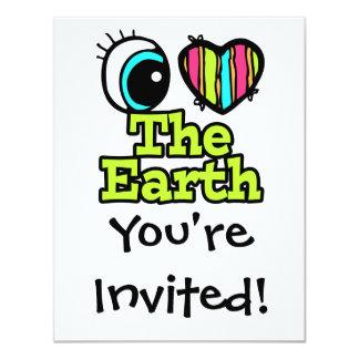 Bright Eye Heart I Love The Earth Card