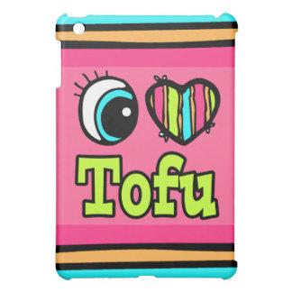 Bright Eye Heart I Love Tofu iPad Mini Covers