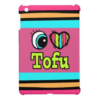 Bright Eye Heart I Love Tofu Case For The iPad Mini