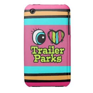 Bright Eye Heart I Love Trailer Parks iPhone 3 Case-Mate Case
