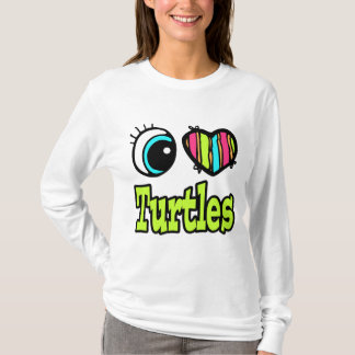 Bright Eye Heart I Love Turtles T-Shirt