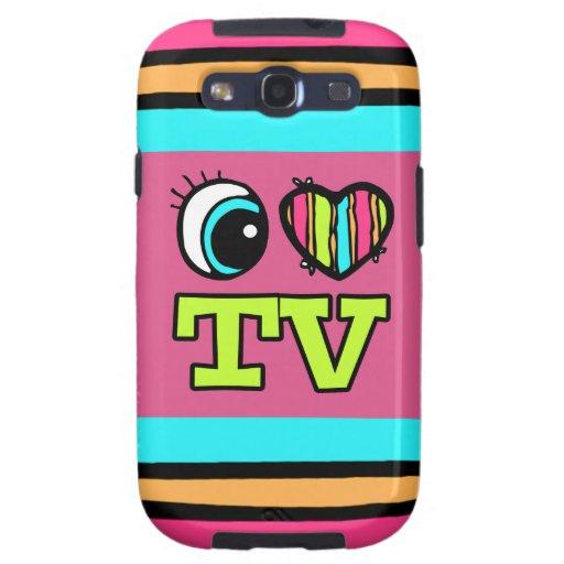 Bright Eye Heart I Love TV Galaxy SIII Cover