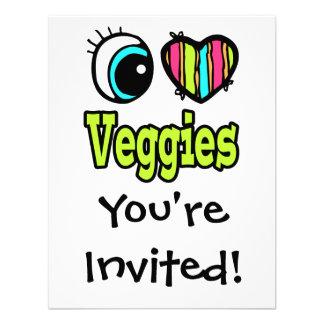 Bright Eye Heart I Love Veggies Announcements