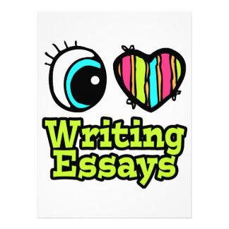 Bright Eye Heart I Love Writing Essays Announcements