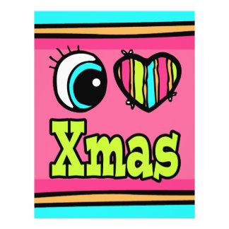 Bright Eye Heart I Love Xmas Flyers