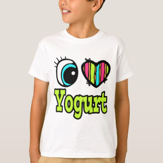 Bright Eye Heart I Love Yogurt T-Shirt