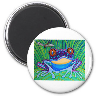 Bright eyed frog magnet