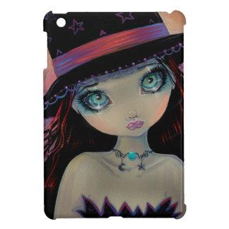 Bright Eyed Witch Big-Eye Art iPad Mini Cases
