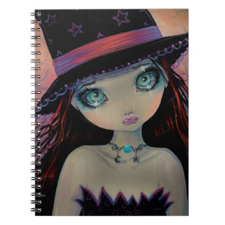 Bright Eyed Witch Note Books