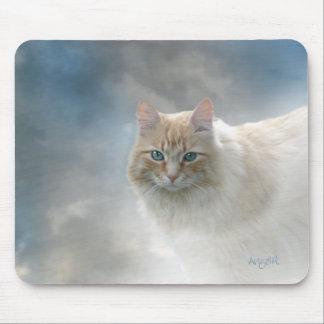 Bright Eyes Cat mousepad © AH2010