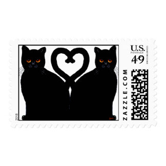 Bright Eyes Heart Postage