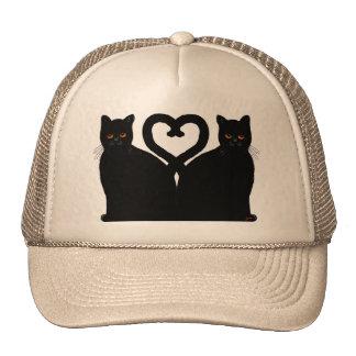 Bright Eyes Heart Trucker Hat