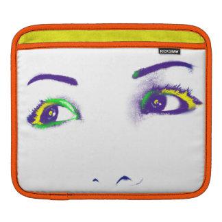 Bright eyes I & II iPad Sleeves
