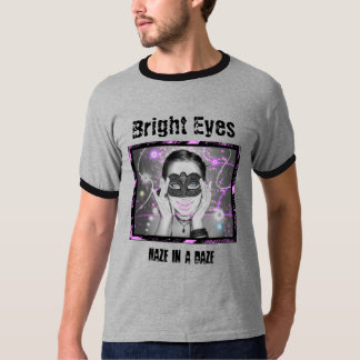 Bright Eyes Mens Ringer T-Shirt