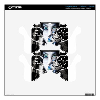 Bright Eyes PS3 Controller Skin