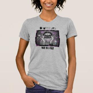 Bright Eyes Womens Grey T Shirt