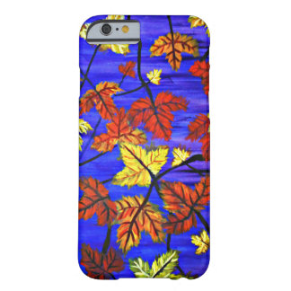 Bright Fall Leaves Barely There iPhone 6 Case