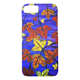 Bright Fall Leaves iPhone 7 Case