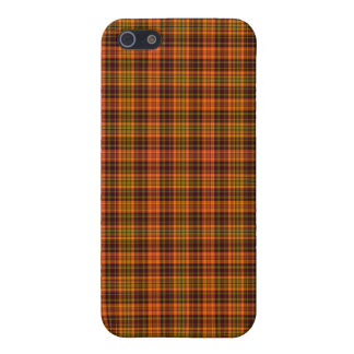 Bright Fall Plaid Cover For iPhone 5