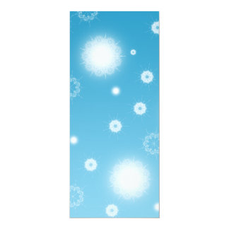 Bright Falling Snowflakes Card