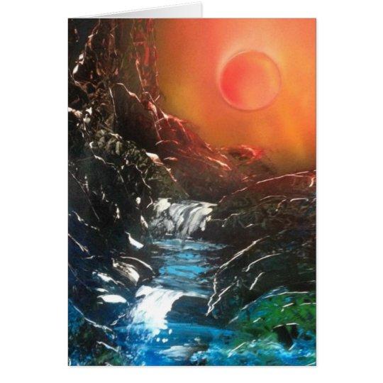 Bright Falls Card