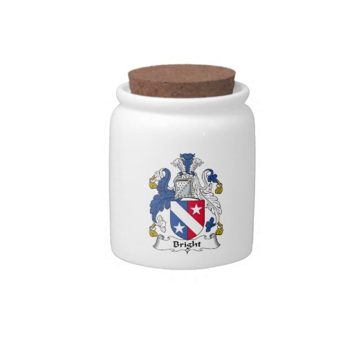 Bright Family Crest Candy Dishes