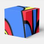 Bright  Festive Color Favor Box