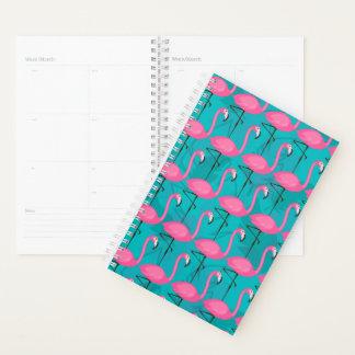 Bright Flamingo Pattern Planner