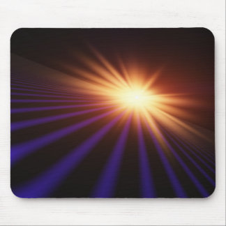 Bright Flash Horizon MousePad