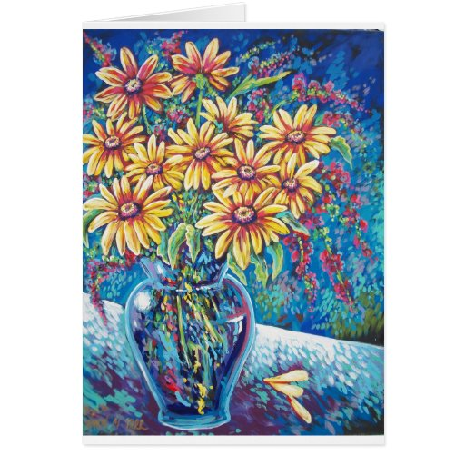 BRIGHT FLORAL GREETING CARDS