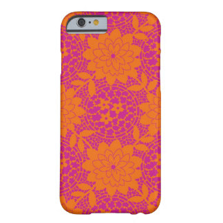 bright floral lattice damask barely there iPhone 6 case