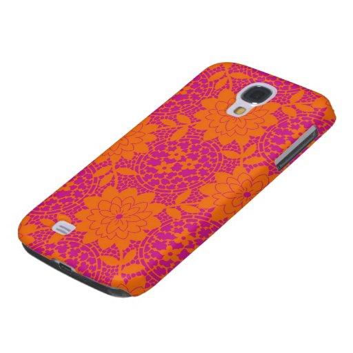 bright floral lattice damask HTC vivid covers