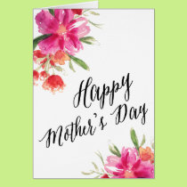 Bright Floral | Mother's Day Card