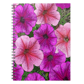 Bright Floral Spiral Notebook