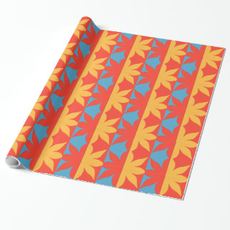 Bright Flower Cut-Out Wrapping Paper