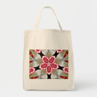 Bright Flower Grocery Tote Grocery Tote Bag