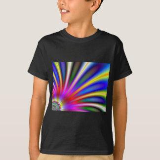 Bright flower like fractal abstract design T-Shirt
