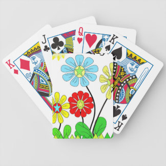 Bright Flower Playing Cards