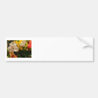 Bright Flowers Bumper Sticker