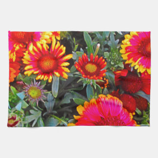 Bright Flowers Towels