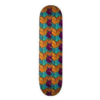 """Bright Flowers"" Skate Board Deck 7 7/8"""