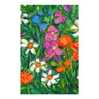 Bright Flowers Stationery