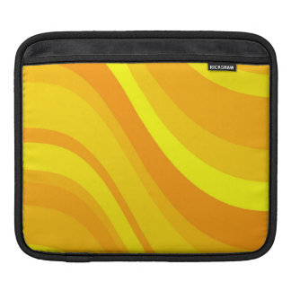 Bright Flowing Lines Sleeve For iPads