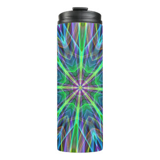 Bright Fluorescent Cool Funky Design Thermal Tumbler