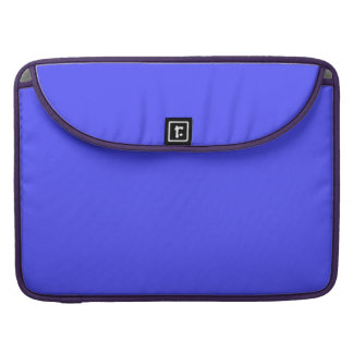 Bright Fluorescent Neon Blue Sleeves For MacBook Pro