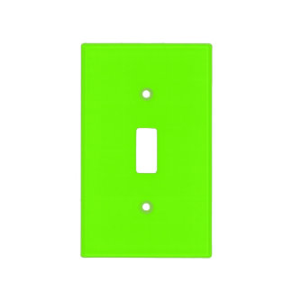 Bright Fluorescent Neon Green Switch Plate Covers