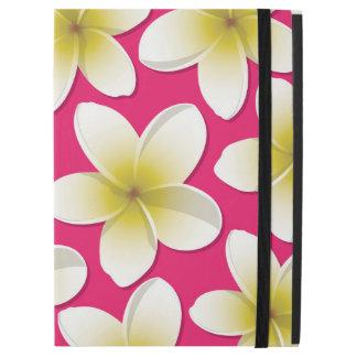 Bright Frangipani/ Plumeria flowers iPad Pro Case