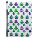 Bright Frogs Kindle 3 Keyboard Cover Kindle Folio Cases